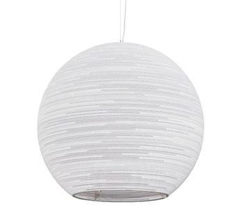 Graypants Sun32 hanglamp wit karton Ø81x75cm