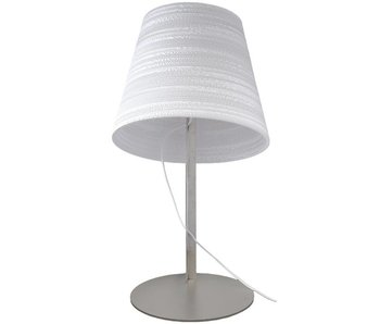Graypants Tilt table lamp white cardboard Ø34x24x56cm