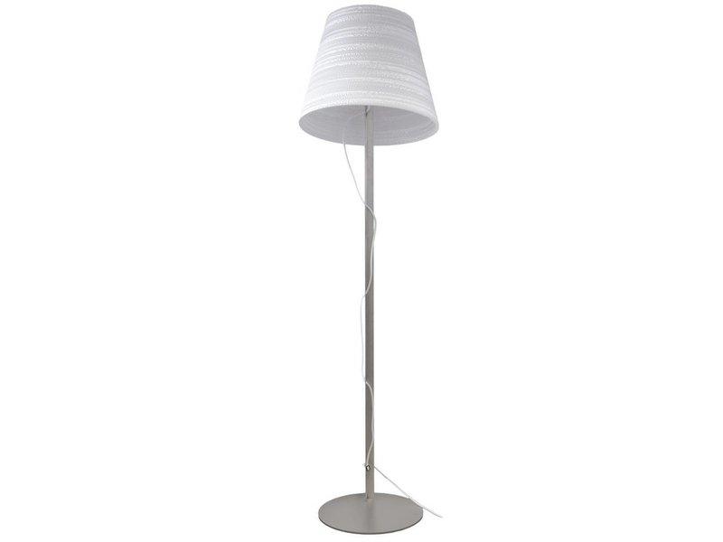 Graypants Tilt standerlampe hvidt pap Ø46x35x170cm