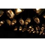 Graypants Moa Linear3 vedhæng lys brun Ø15x54cm