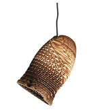 Graypants Moa Linear7 hanglamp bruin Ø15x126cm
