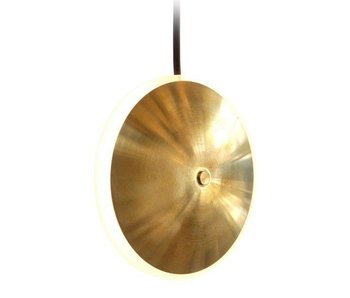 Graypants Dish6v hanging lamp brass Ø14x5cm