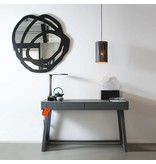 Graypants P2 hanglamp espresso Ø18x32cm