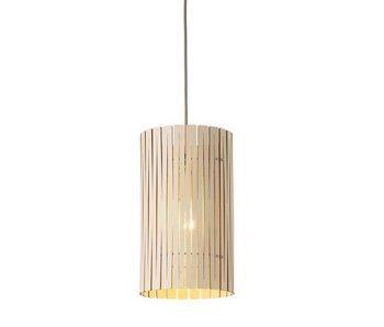 Graypants P2 hanglamp whitewash Ø18x32cm