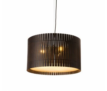 Graypants D6 Drum pendant light espresso Ø55x32cm