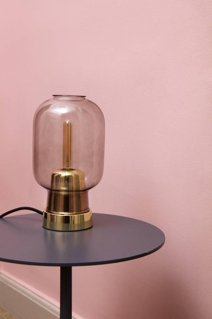 Normann Copenhagen AMP table lamp brass - LIVING AND CO.