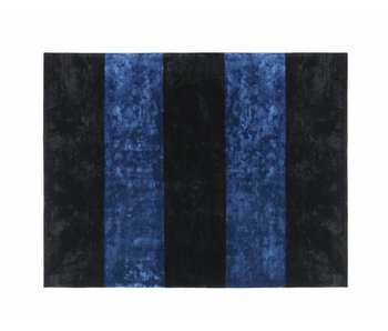 Normann Copenhagen Pavilion rug black dark blue