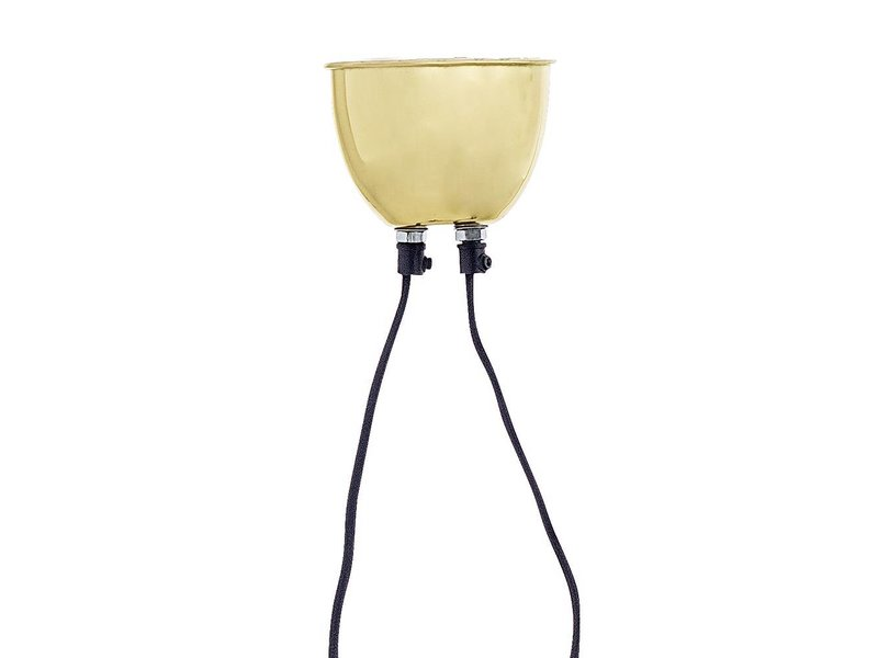 Bloomingville Hanglamp goud L94xH30 cm