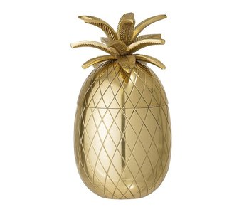 Bloomingville Pineapple isspand guld Ø13xH24 cm