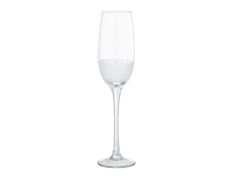 Bloomingville Champagne Glas Motiv Ø6,5x25 cm