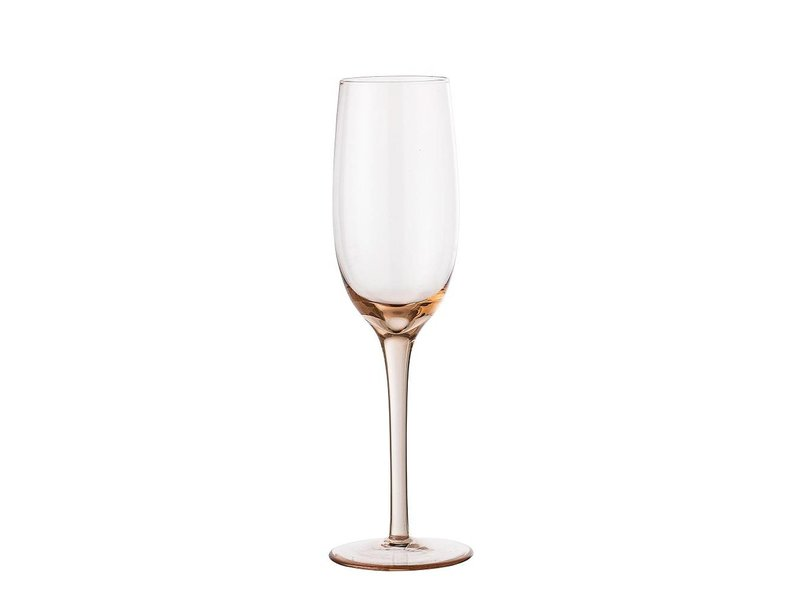 Bloomingville Champagne glas rose Ø5x22,5 cm
