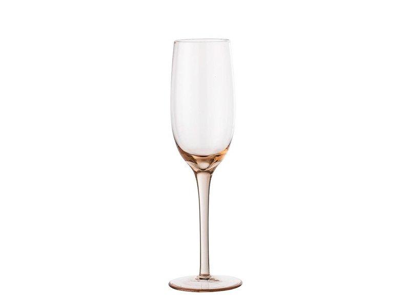 Bloomingville Champagne Glas stieg Ø5x22,5 cm