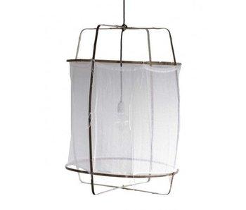 Ay Illuminate Hanging lamp Z1 white cotton ø67x100cm