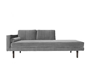 Broste Copenhagen Chaise longue canapé gris
