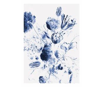 KEK Amsterdam Royal Blue Flowers II Blumentapete