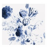 KEK Amsterdam Royal Blue Flowers II blomster tapet