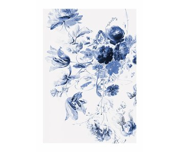 KEK Amsterdam Royal Blue Flowers III bloemen behang