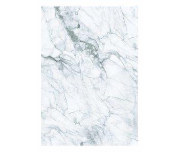 KEK Amsterdam Papier peint en marbre blanc gris