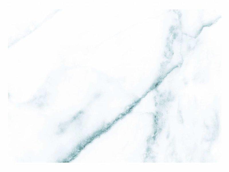 KEK Amsterdam Marmor tapet hvidblå