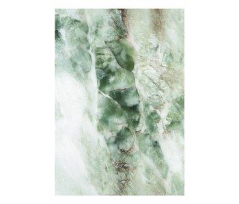 KEK Amsterdam Papier peint en marbre vert