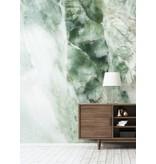 KEK Amsterdam Marmor tapet grøn