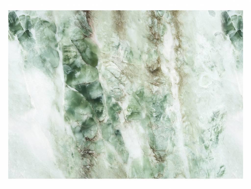 kek amsterdam marmor tapete gr n living and co. Black Bedroom Furniture Sets. Home Design Ideas
