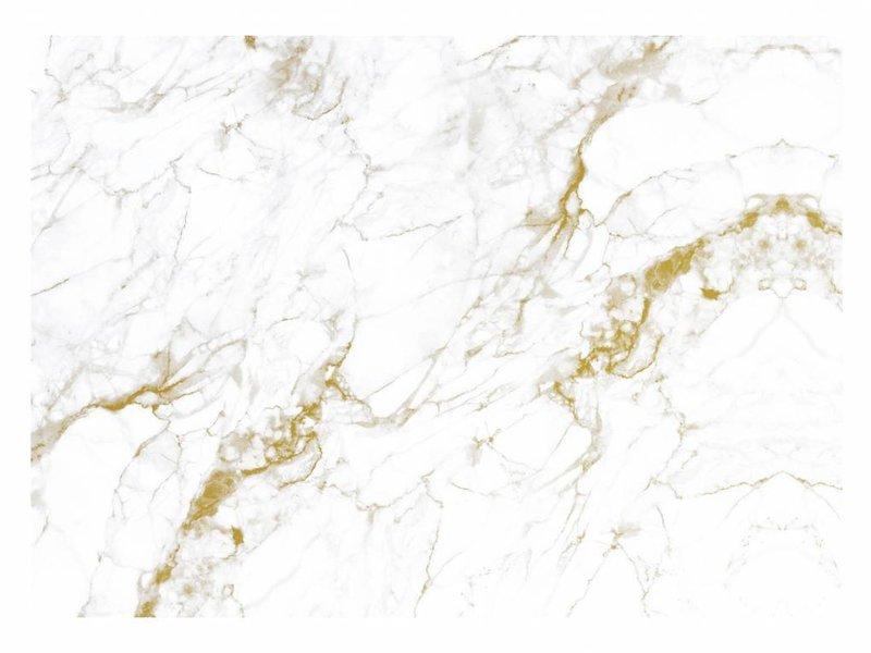 KEK Amsterdam Marmor tapet hvidguld