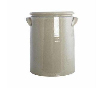 House Doctor XL pot keramik sand