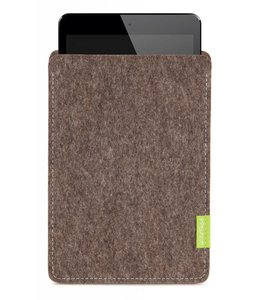 Apple iPad Sleeve Natur-Meliert