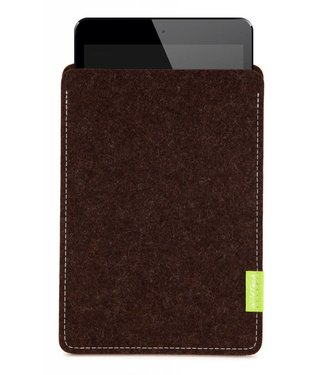 Apple iPad Sleeve Trüffelbraun