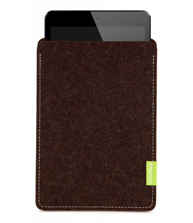 Apple iPad Sleeve Trüffelbraun
