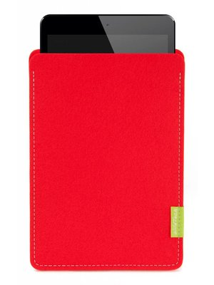Apple iPad Sleeve Bright-Red