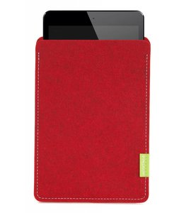Apple iPad Sleeve Kirschrot
