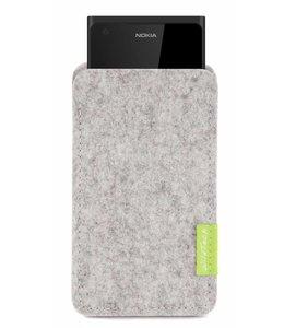 Nokia Sleeve Hellgrau