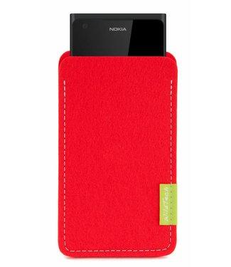 Nokia Sleeve Hellrot