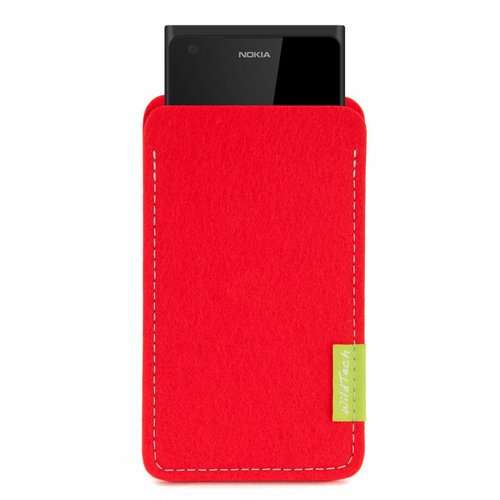 Lumia Sleeve Bright-Red