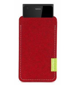 Nokia Sleeve Kirschrot