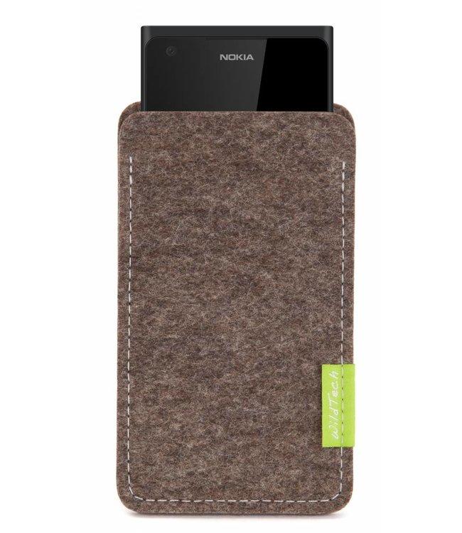 Nokia Sleeve Natur-Meliert