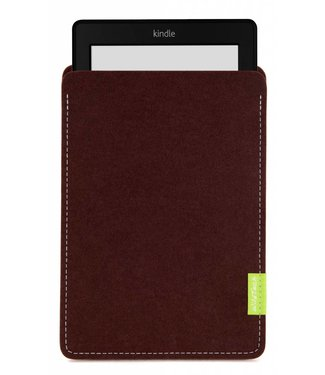 Amazon Kindle Sleeve Dunkelbraun