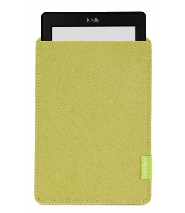 Amazon Kindle Sleeve Lindgrün