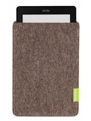 Amazon Kindle Sleeve Natur-Meliert