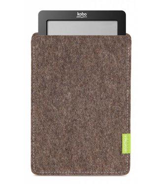 Kobo eBook Sleeve Natur-Meliert