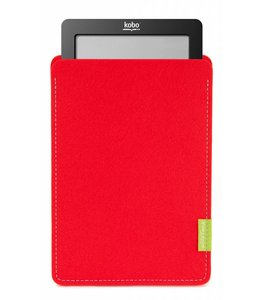Kobo eBook Sleeve Bright-Red