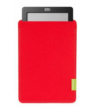 Kobo eBook Sleeve Hellrot