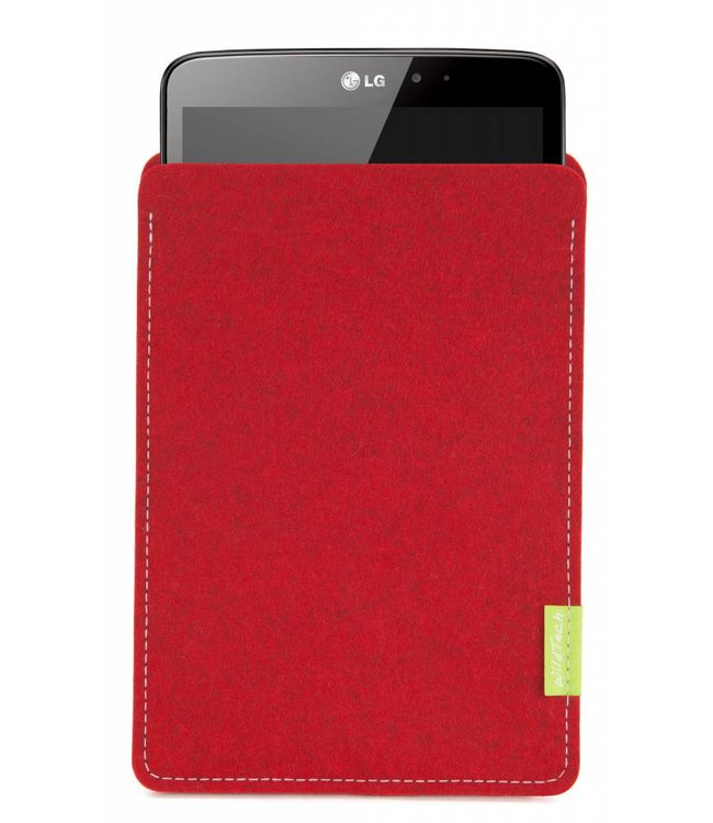 LG G Pad Sleeve Cherry