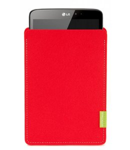 LG G Pad Sleeve Bright-Red