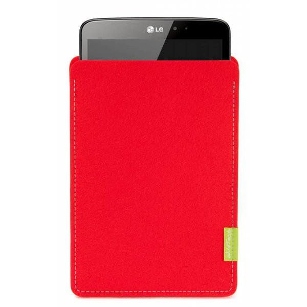 LG G Pad Sleeve Bright-Red