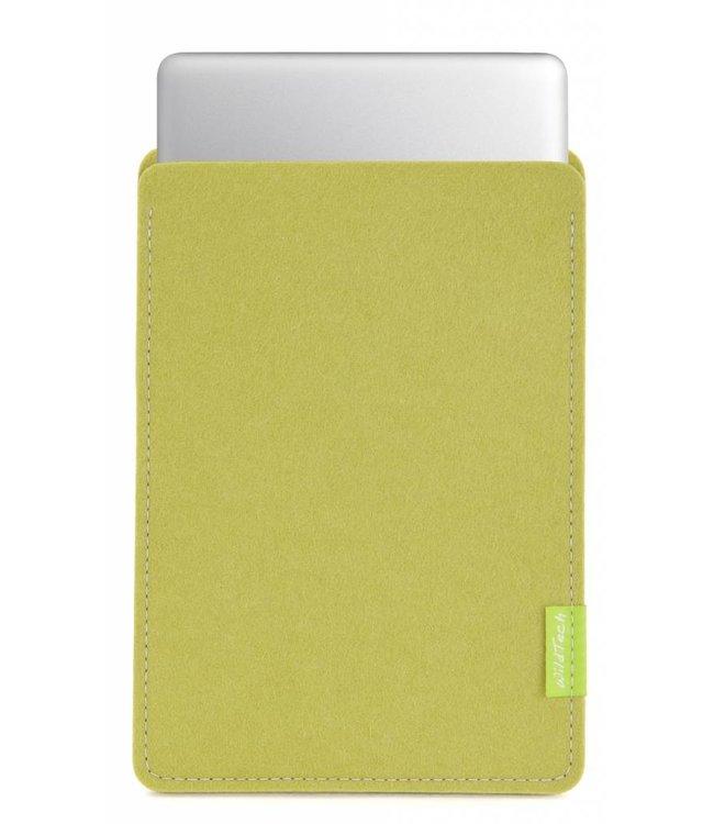 Apple MacBook Sleeve Lindgrün