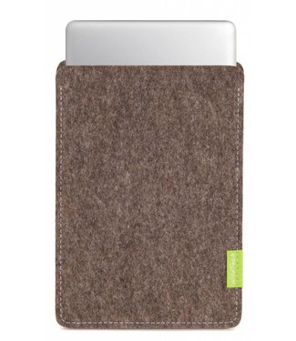 Apple MacBook Sleeve Natur-Meliert