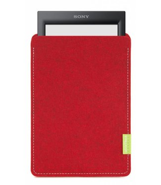 Sony PRS eBook Sleeve Kirschrot